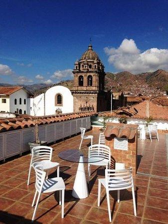 Plaza de Armas Cusco Hotel : Terraza del hotel