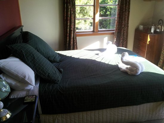 Nikau Lodge: Comfy Bed