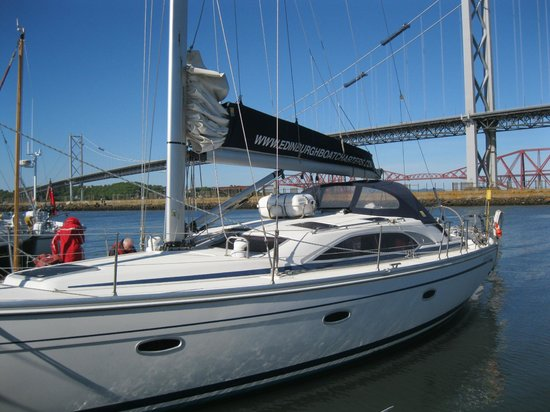 Edinburgh Boat Charters: Colin's yacht