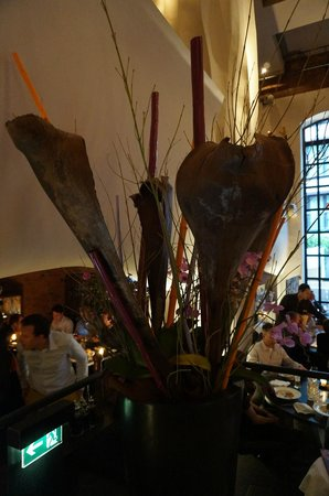 east Design Hotel Hamburg : restaurant