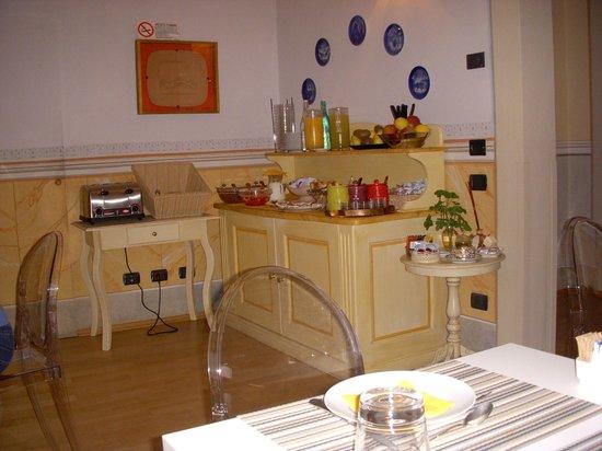 A Palazzo Busdraghi, Residenza d'Epoca : Breakfast buffet