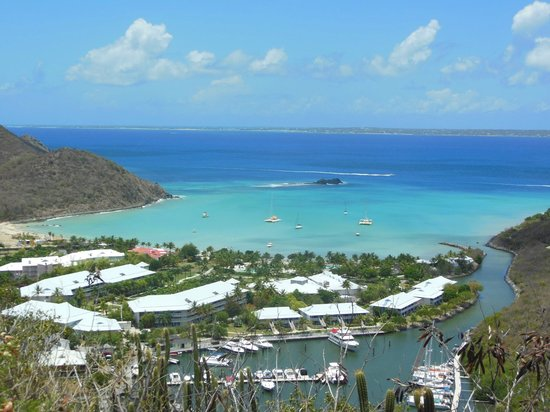 Hotel Riu Palace St Martin: View of Anse Marcel