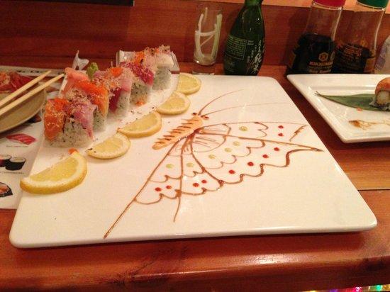 Wasabi Japanese Restaurant: Sushi Chef Art, Wasabi, Hudson NY