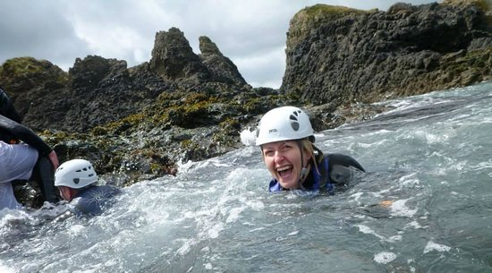 Coasteering NI - Private Tours: The smile says it all
