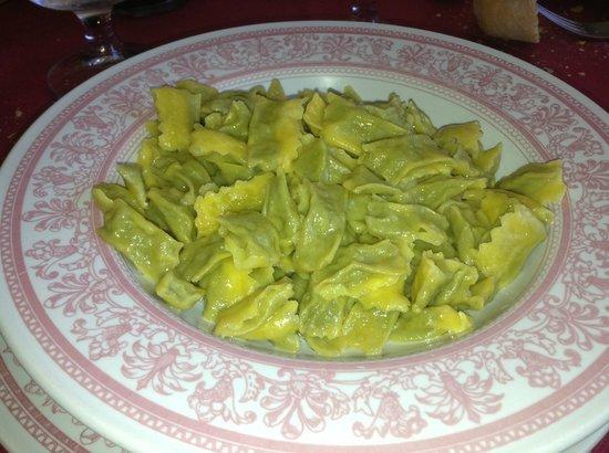 Il Monarca: Homemade ravioli's