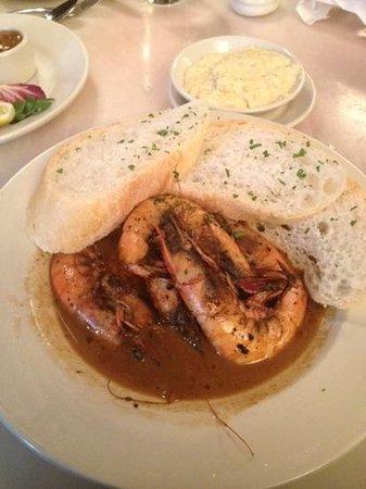 BBQ Shrimp... Messy but mmm mmm good!