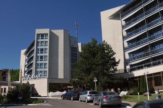 Hotel geb udekomplex bild von cliff hotel r gen sellin for Sellin rugen ferienwohnung
