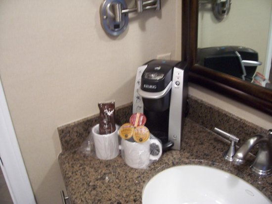 Hotel Vista Del Mar: K cups