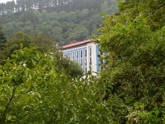 Balneario Cestona: Vista del balneario