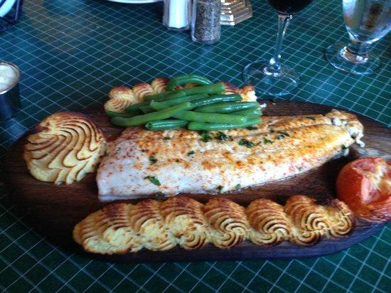Douglas Lake Bar & Steakhouse: Planked Whitefish...and AAAAAHHHH Those Taties!