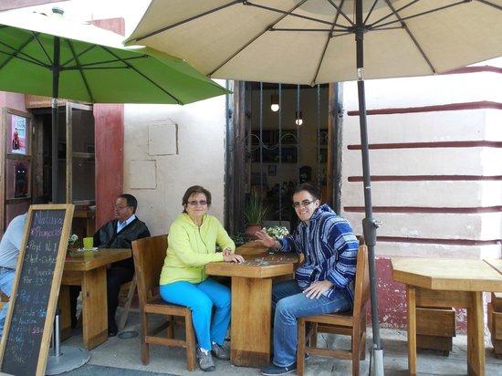 Restaurant Natura: Comiendo fuera