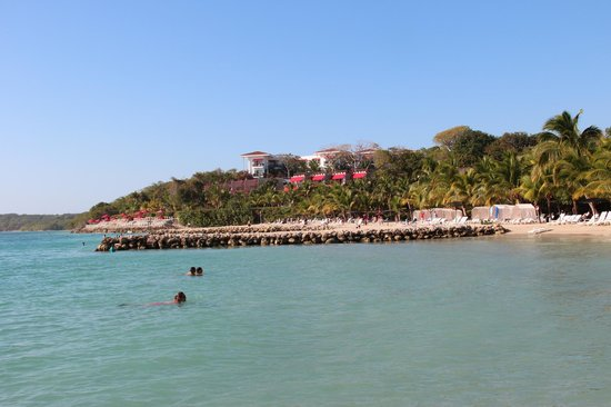 Decameron Baru: vista desde playa puntilla
