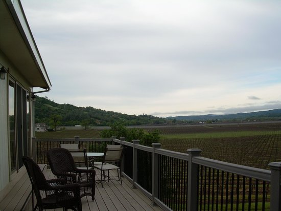 Auberge on the Vineyard: The Balcony