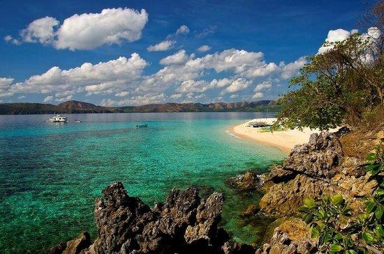 Club Paradise Palawan: Dimakya Island looking south east