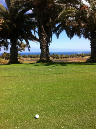 Costa Teguise Golf Club: view