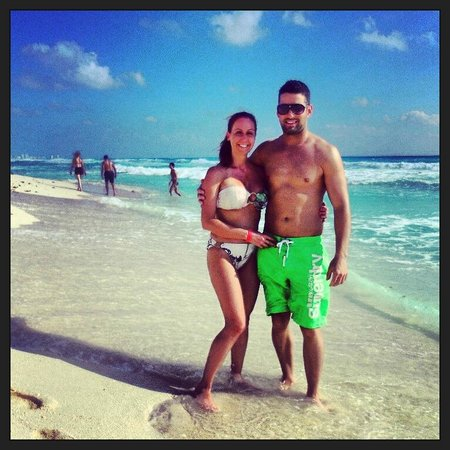Crown Paradise Club Cancun: Plage
