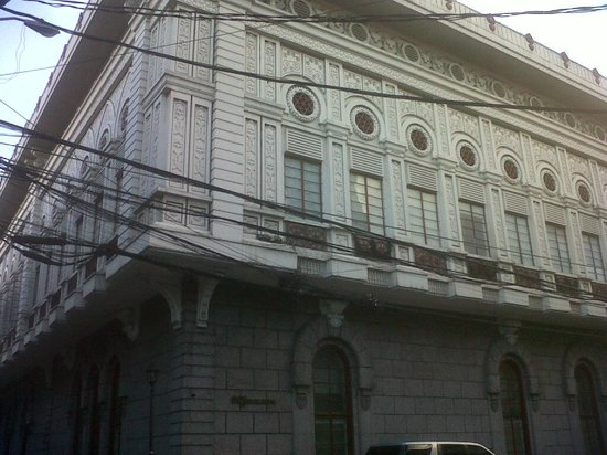 E.C.J Building: front of  the building