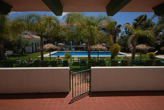 Pueblo El Goleto Aparthotel: view from our terrace