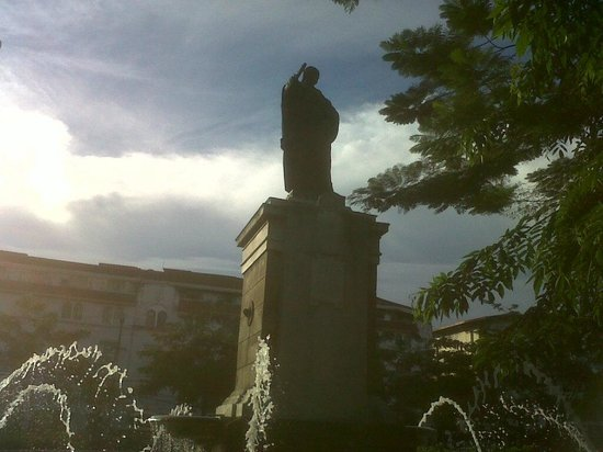 Father Blanco's Garden : Father Blanco's Monument
