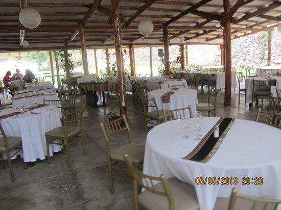 Sonesta Posadas del Inca Yucay: Restaurant: Gesamtansicht