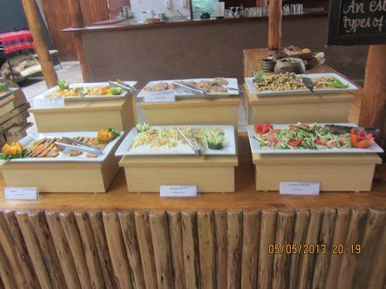Sonesta Posadas del Inca Yucay: Buffet