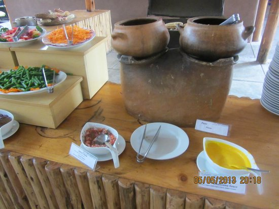 Sonesta Posadas del Inca Sacred Valley Yucay: Buffet