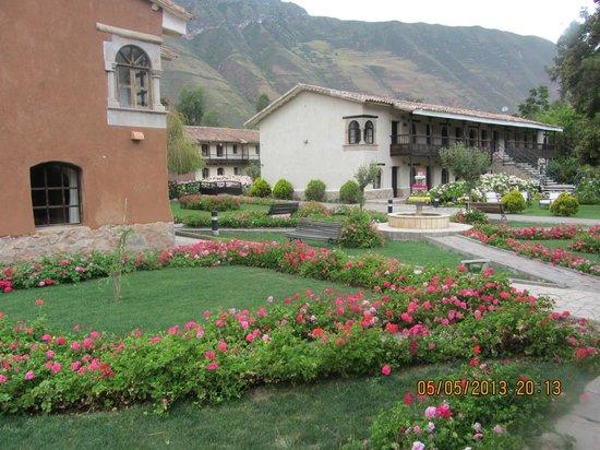 Sonesta Posadas del Inca Yucay: Hotelgelände: Teilansicht