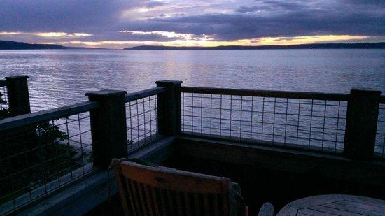 Inn at Langley: Sunset