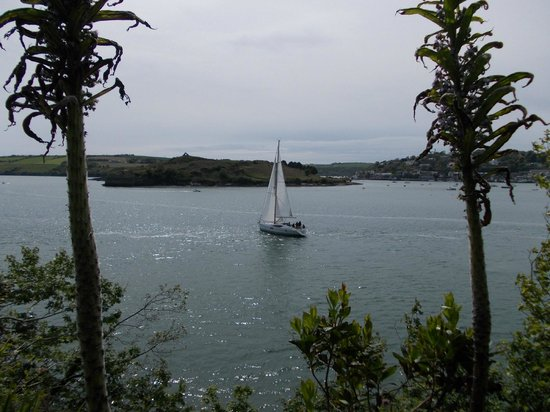 Blue Haven Hotel: Scilly Walk view