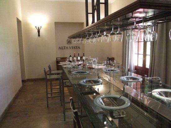 Ampora Wine Tours: Altavista Tasting room