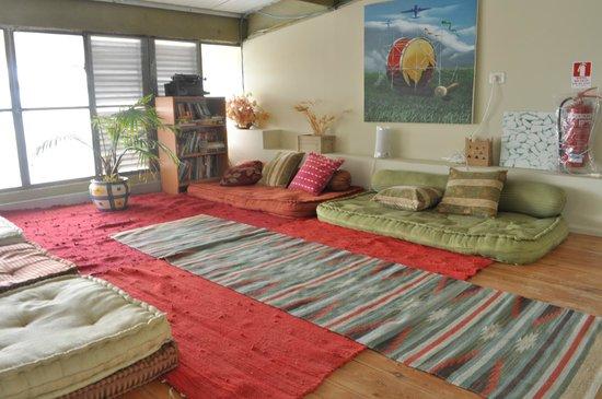 iBex (iBike) Unique Desert Inn: Upstairs loft sitting area