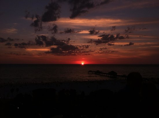 Jimmy's Crow's Nest: Sunset, Memorial Day weekend