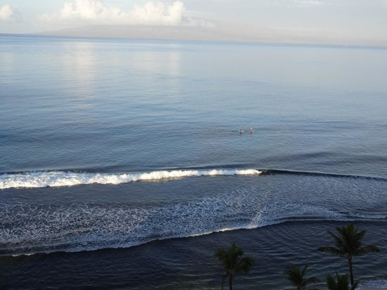 Marriott's Maui Ocean Club  - Lahaina & Napili Towers : View from room with island of Lanai in background.