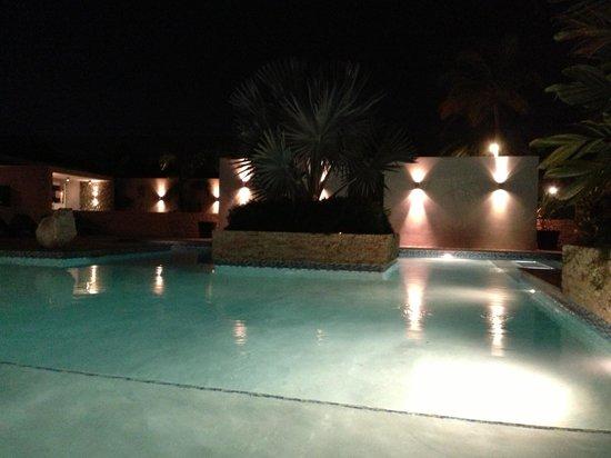 Trupial Inn: piscina desde el bar