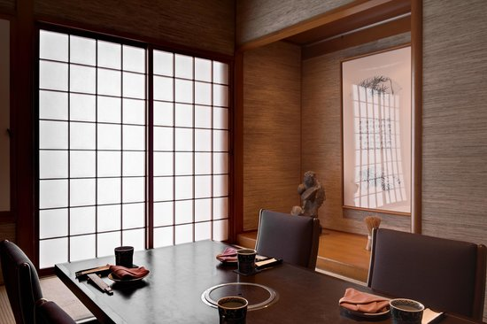 Sheraton Grand Taipei Hotel: Momoyama Japanese Restaurant Private Room