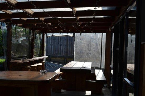 Turtlecove Accommodation: outside area