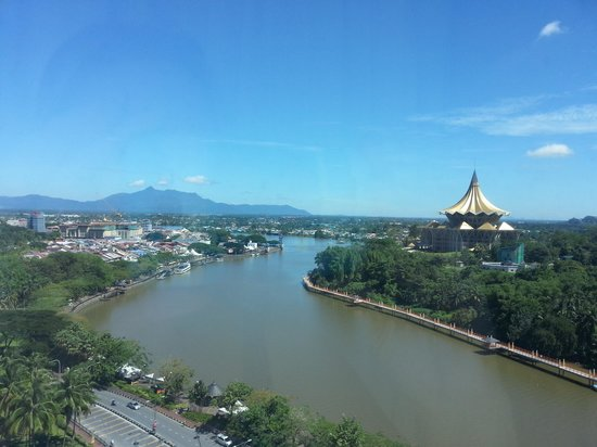 Riverside Majestic Hotel : Beautiful view from 13th floor