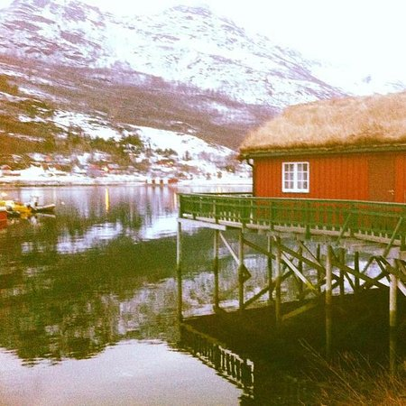 Manndalen Sjoebuer: The cottage we stayed in