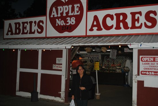 Placerville, CA: Memorable experience in an apple farm and lots of apple products and souvenirs at Abel's Acres.
