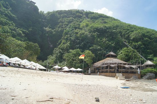Karma Beach Bali: Nammos Beach Club..restaurant