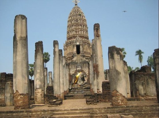 Sukhothai, Thailand: the first ruins