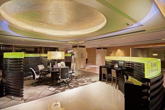 Sheraton Grand Taipei Hotel : Link@Sheraton