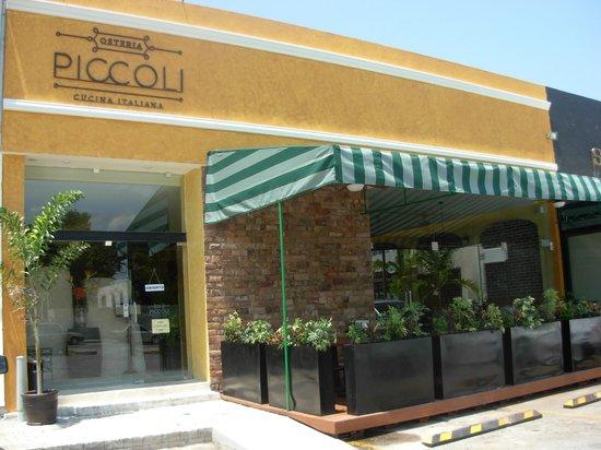 Osteria Piccoli: cuenta con una terraza muy amplia