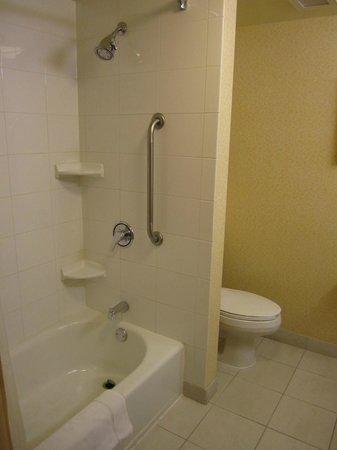 Fairfield Inn & Suites Toronto Brampton: clean bathroom