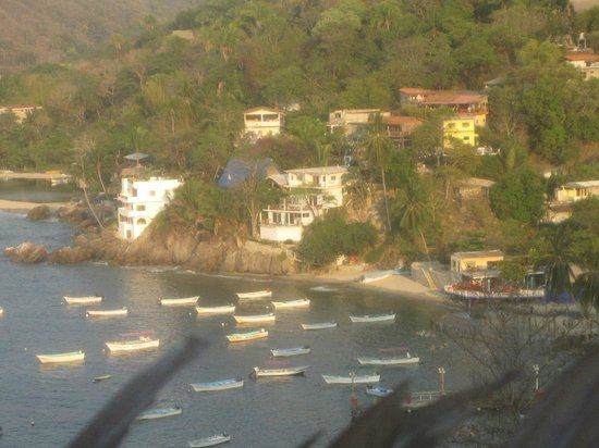 MiraMar Yelapa: view of the Miramar Casa's