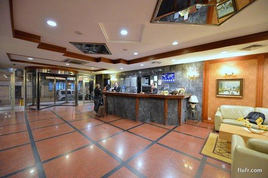 Crystal Hotel Lobby