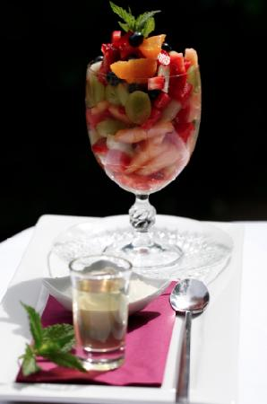 Bishop's Court Estate Boutique Hotel: A Gorgeous Fruit Parfait