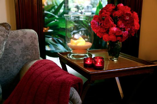 Bishop's Court Estate Boutique Hotel: Perfect Spot to relax with a glass of wine