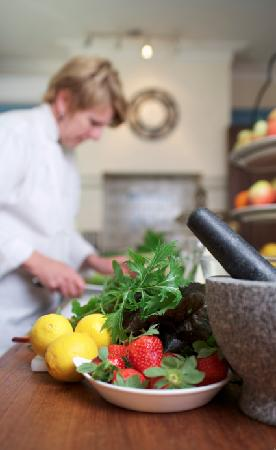 Bishop's Court Estate Boutique Hotel: A snap shot of kitchen cooking classes