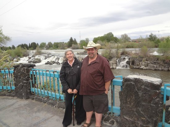 Residence Inn Idaho Falls: Mom and Son Trip - This is right in front of the hotel
